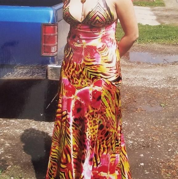 Wild Prom Dress